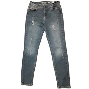 Noisy May Kim Loose Distressed Jeans Size W29 L32